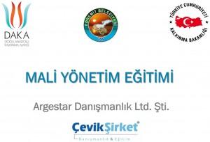 Doğu Anadolu Kalkınma Ajansı (DAKA)'nda Mali Yönetim Eğitimi